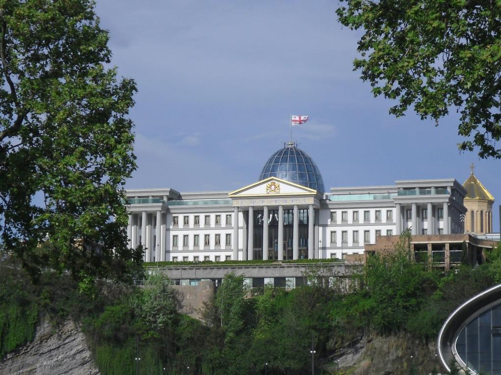 Tbiliszi - az elnöki palota