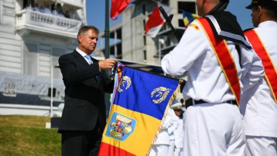 A Fekete-tenger védelmének fontosságát hangoztatta Iohannis