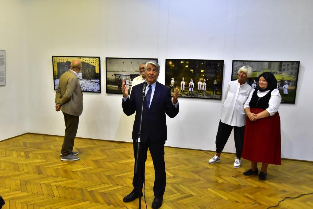 Megnyílt a Korniss Péter kiállítás Kolozsváron