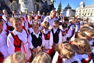 Vendégünk a Szentegyházi Gyermekfilharmónia