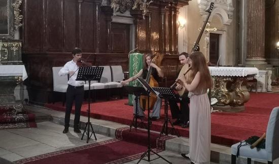 Bemutatkozott Kolozsváron a Concerto Spiralis