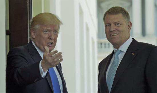 A román és amerikai elnök az 5G technológiáról is tárgyalt