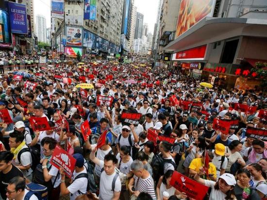 Betiltotta a hongkongi rendőrség a szombatra tervezett demokráciapárti tüntetést