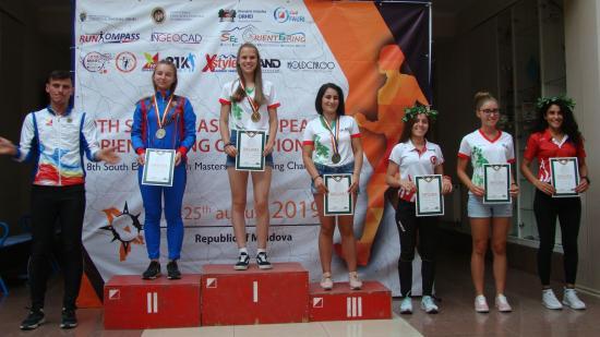 Kolozsvári sikerek a Délkelet-Európai Tájfutó Bajnokságon