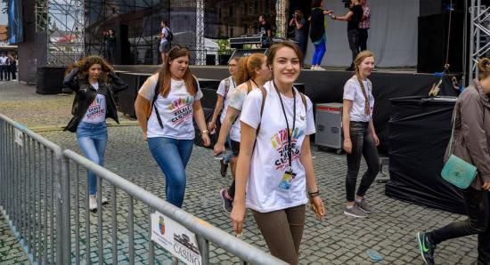 Keresik a Kolozsvári Városnapok önkénteseit