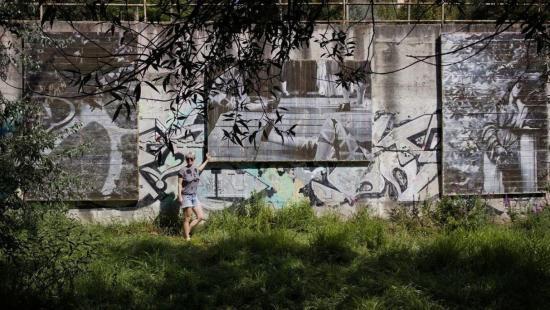 Ania Ciotlăuș fotói a Kis-Szamos partján