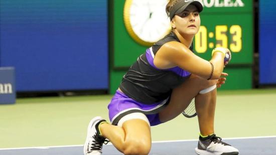 US Open: Bianca Andreescu tovább menetel