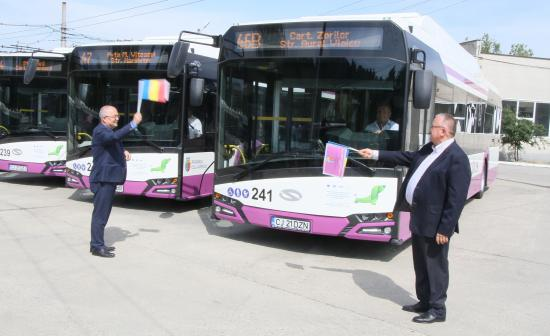 Húsz új elektromos autóbuszt állítottak forgalomba