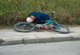 Rekordot döntött az ittas kerékpáros
