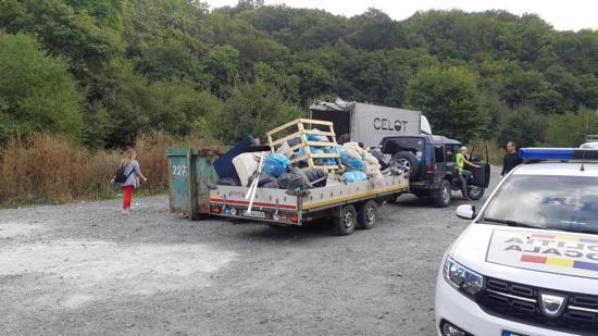 CERT Transilvania: 50 tonna hulladékot szedett össze az 1200 önkéntes