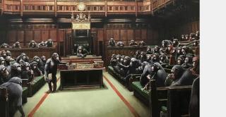 Árverésre viszi Banksy legnagyobb, egyik leghíresebb festményét a Sotheby's