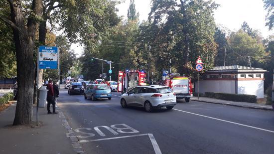 VIDEÓ - Újabb baleset elektromos rollerrel Kolozsváron