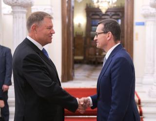 Iohannis és Morawiecki a kétoldalú együttműködés fejlesztéséről beszélt