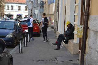Közel 400 koldust füleltek le Kolozsváron