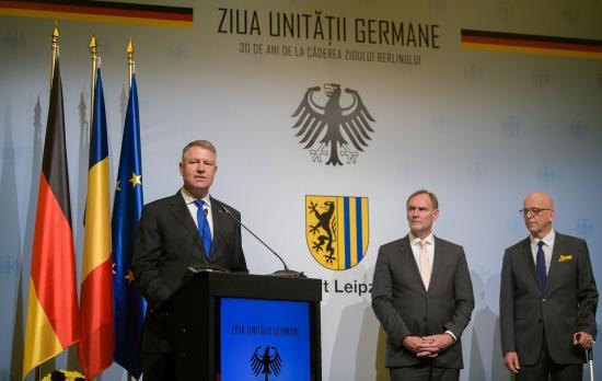 Iohannis: a romániai németek köteléket jelentenek Németországgal