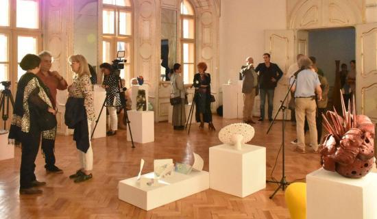 Megnyílt a 4. Kolozsvári Nemzetközi Kerámia Biennálé