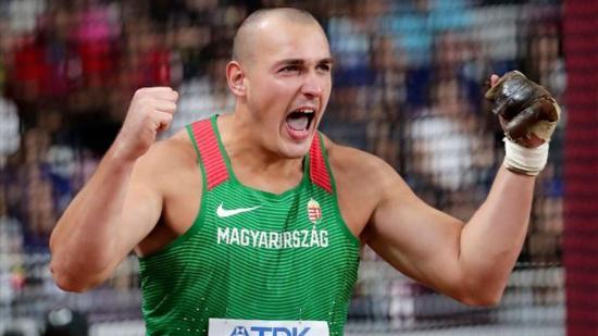 Atlétikai vb: Halász Bence bronzérmes kalapácsvetésben