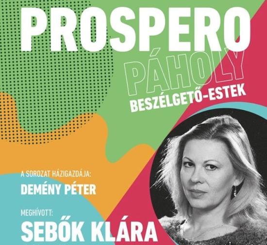 Sebők Klára a Prospero páholyban