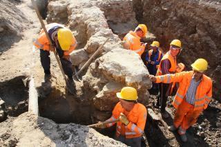 Római kori járószintre találtak