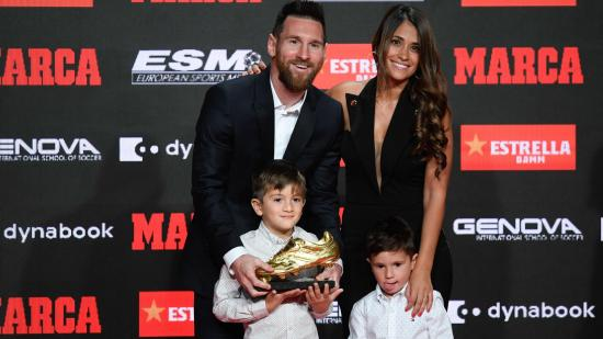 Átvette hatodik Aranycipőjét Lionel Messi