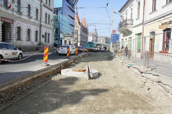 Esővíz-elvezetés is társult a régészeti feltáráshoz