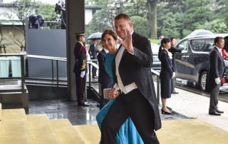 Iohannis részt vett a Naruhito japán császár trónra lépési ünnepségén