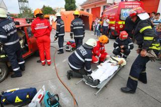 Harmincöt gyereket menekítettek ki egy kigyulladt óvodából