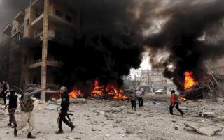 Az Egyesült Államok megerősíti katonai jelenlétét a szír olajmezők közelében