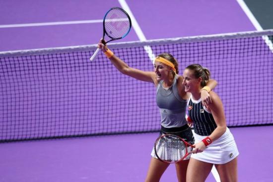 WTA-vb: Babos ismét megvédte címét párosban