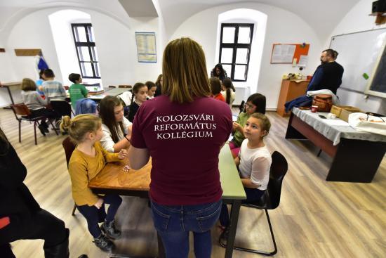 Családok találkozója a Református Kollégiumban