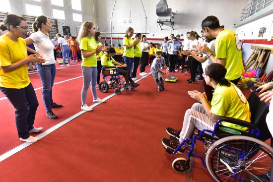 Ötödször versengtek a Csemete-paralimpikonok