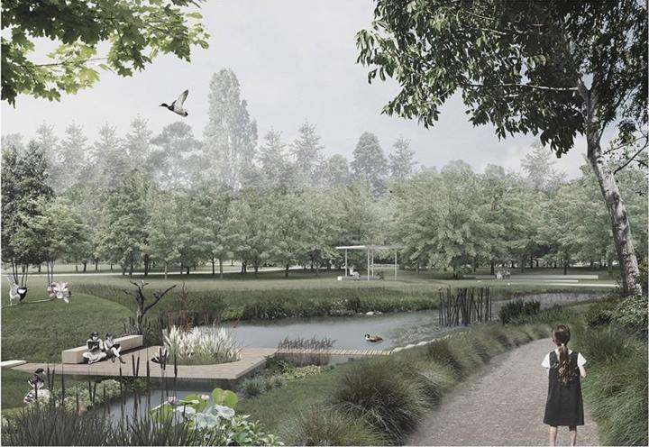 Szamos-kertté varázsolnák a Vasutas parkot