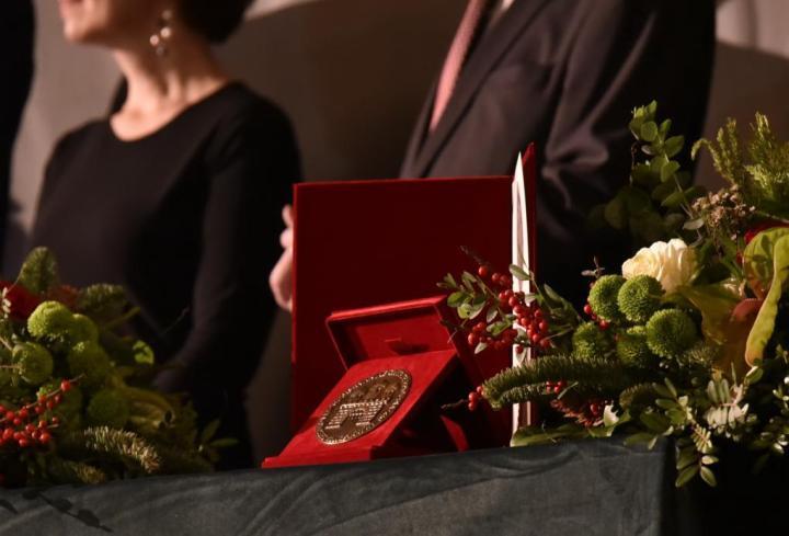 Balog Zoltán miniszterelnöki biztos és Gaál György helytörténész kapta a Kincses Kolozsvár-díjat