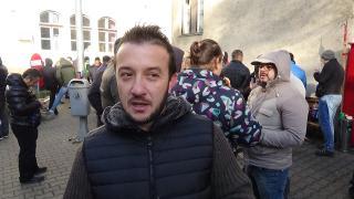 VIDEÓINTERJÚ - Miért tüntetnek a kolozsvári taxisok?