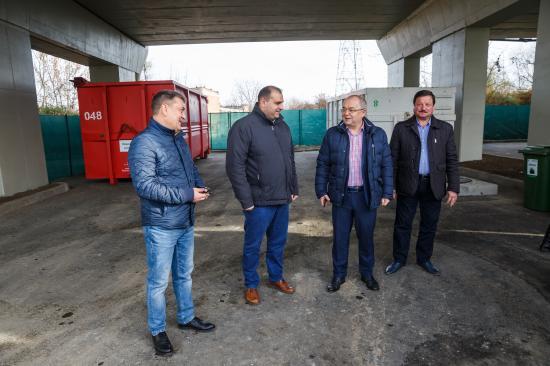 Két új hulladékgyűjtő telephelyet nyitottak a kolozsváriaknak