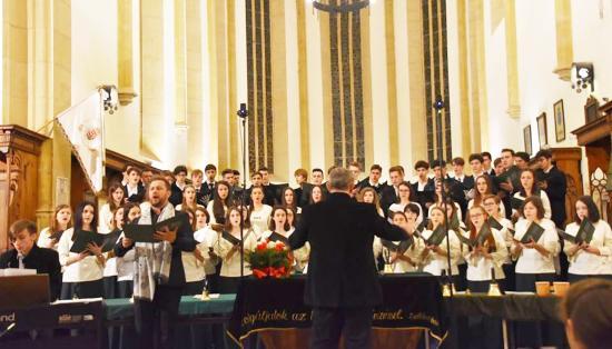 Jubileumi karácsonyi koncert a Református Kollégiumban