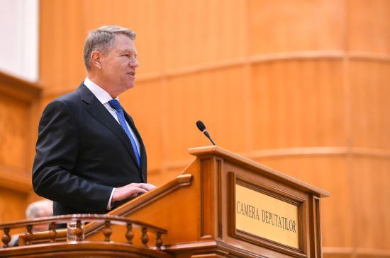 Iohannis jogi igazságtételt sürgetett az 1989-es forradalom 30. évfordulóján
