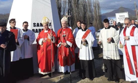 A pápa nagykövetével ünnepeltek a bányászok és családjaik