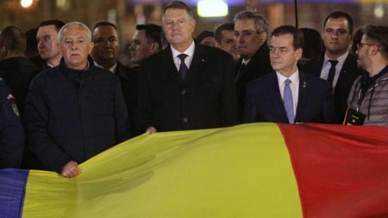 1989-es forradalom: Klaus Iohannis és Ludovic Orban is részt vett a felvonuláson
