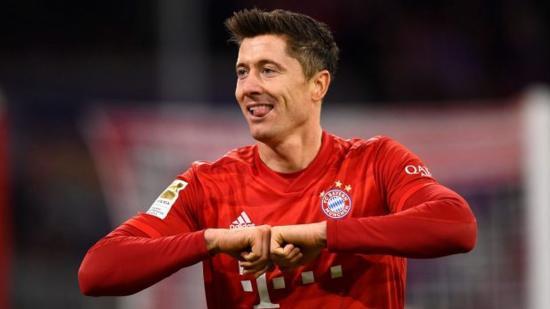 Lewandowski 2019 legeredményesebb játékosa