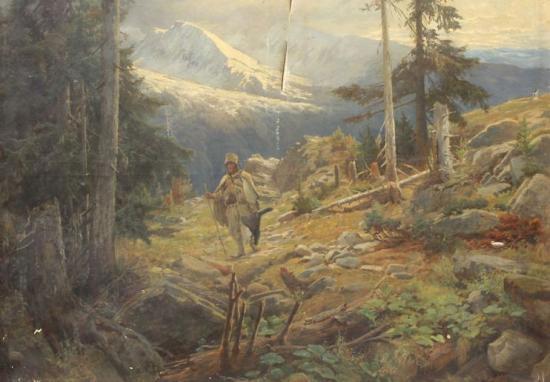A festő, aki bejárta Erdély minden szegletét