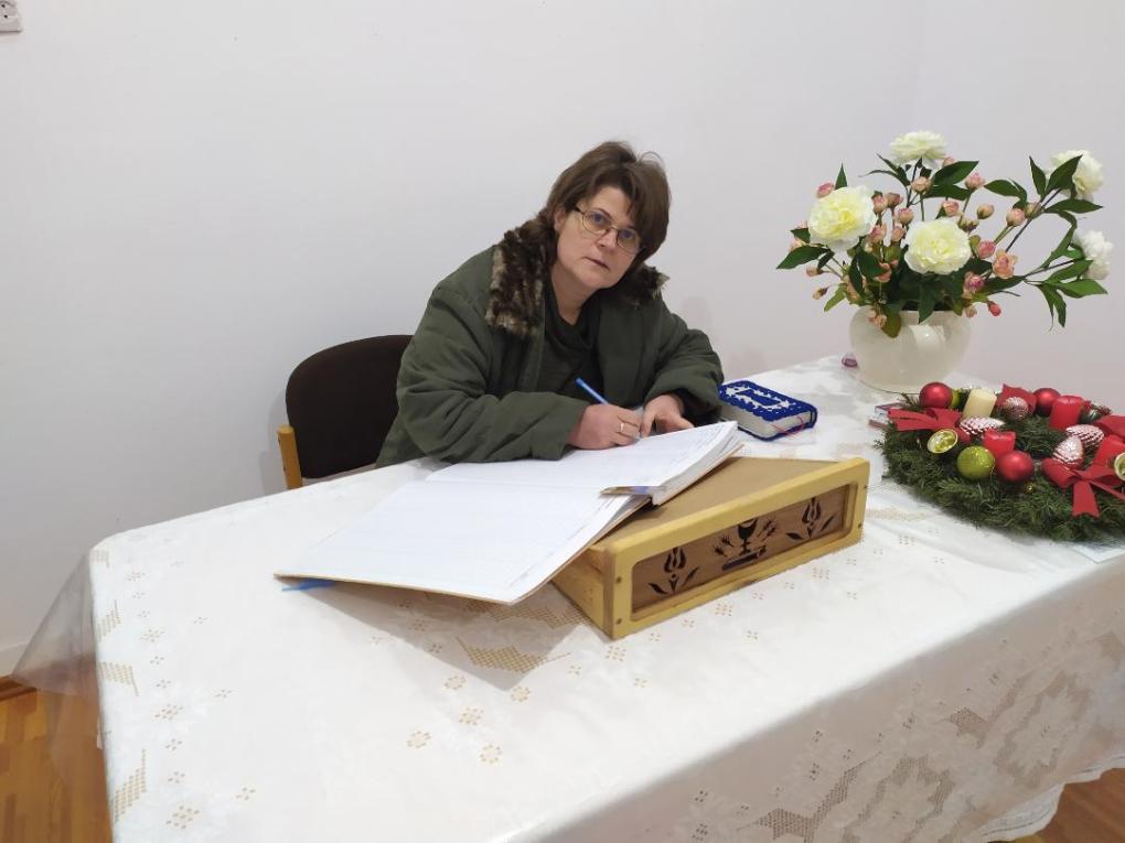 Lukács Margit lelkésznő viszi a karácsonyi örömüzenetet