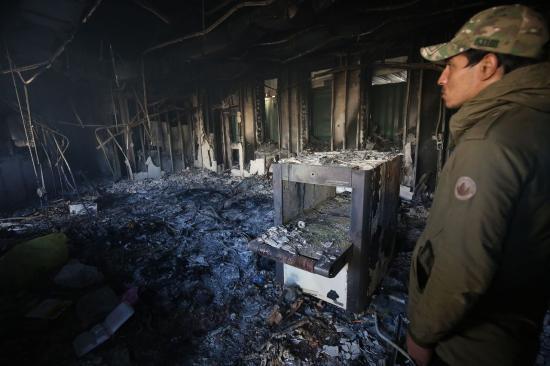 Washington légicsapásokat hajtott végre Bagdadban Iránhoz köthető célpontok ellen