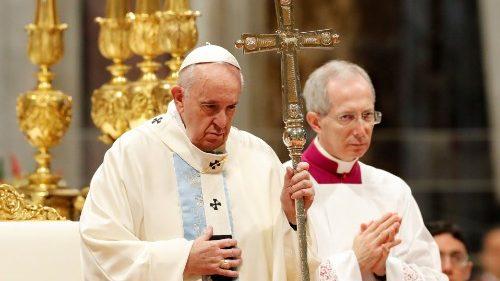 Ferenc pápa a pénz istenének elutasítására szólított fel