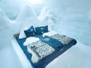 Az enyhe téli időjárás miatt az idén nem épül meg Románia egyetlen jégszállodája