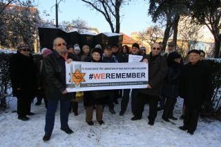 #WEREMEMBER fotósorozat a Holokauszt Emléknapra