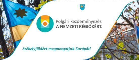 SZKT Kolozsváron - Az RMDSZ 200 ezer aláírást gyűjt a nemzeti régiókról szóló polgári kezdeményezés támogatására