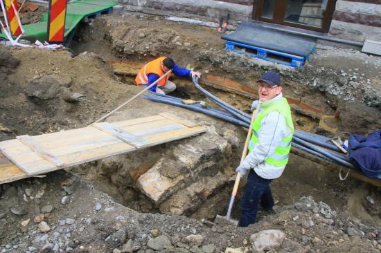 A Híd-utcai kaputorony újabb részlete bukkant elő