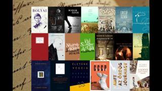 Ez a húsz könyv verseng az Aegon Irodalmi Díjért