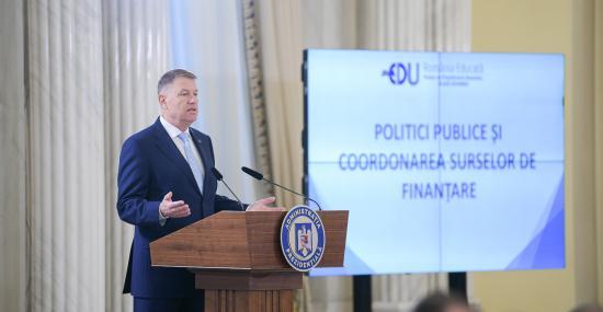 Iohannis: Nem tudjuk azonnal megoldani az oktatással kapcsolatos problémákat